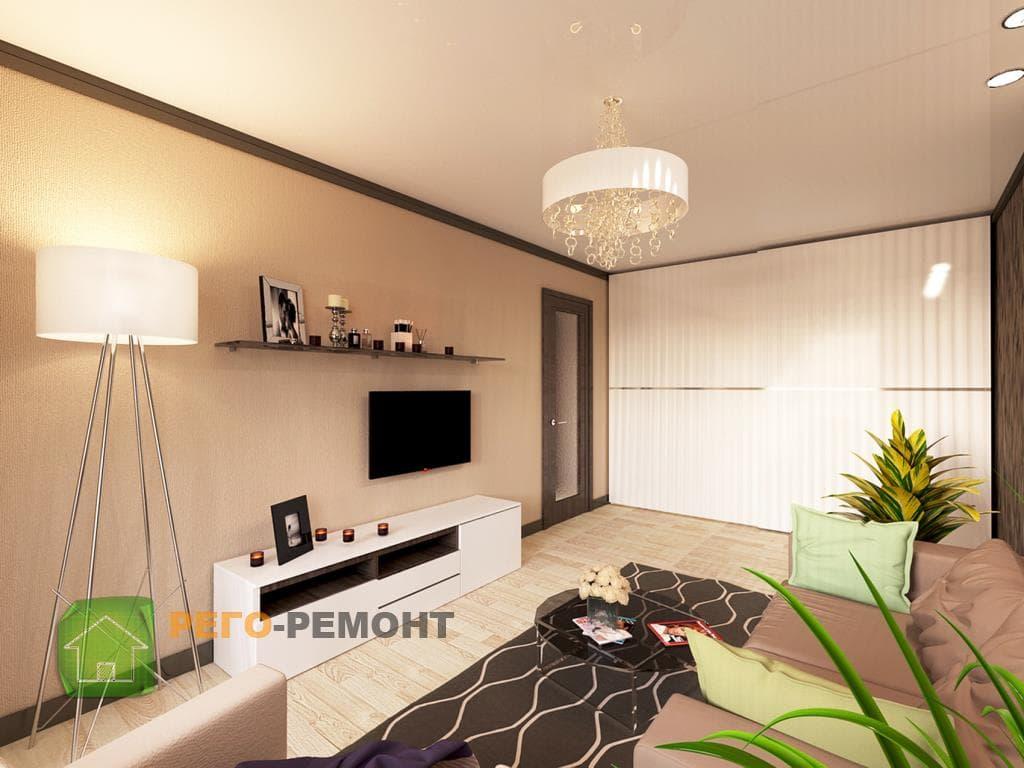 Дизайны квартир готовые